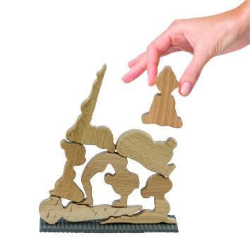 Yoga balance game
