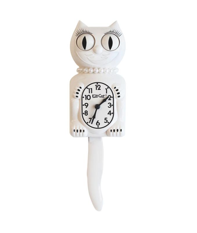 Original Kit Cat clock white lady