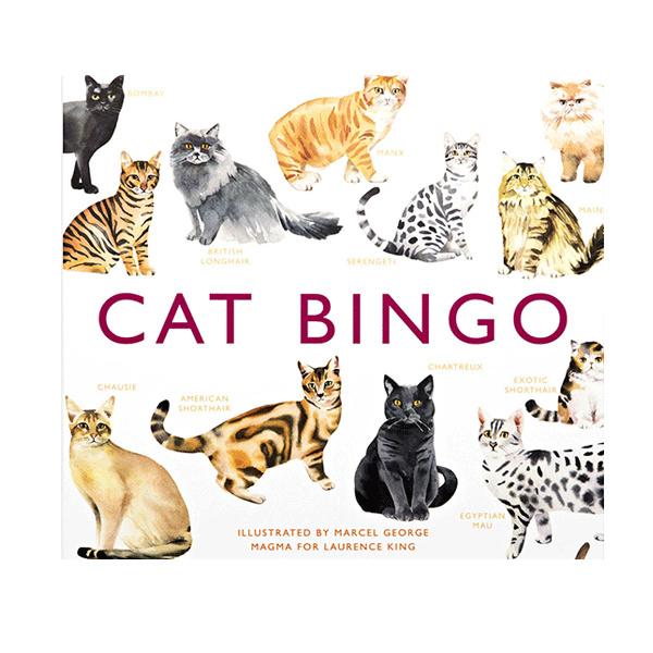 Cat bingo by Laurence King
