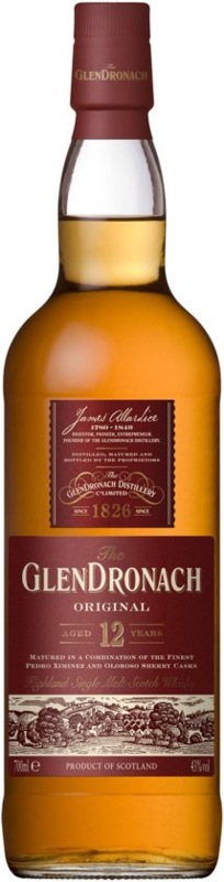 Glendronach 12 Years Whisky - 70 cl