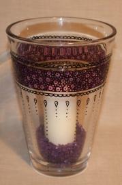 Vaas met paars