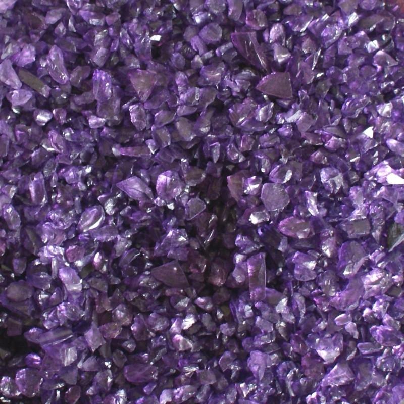 Decoratiesteentjes paars medium 250gr.