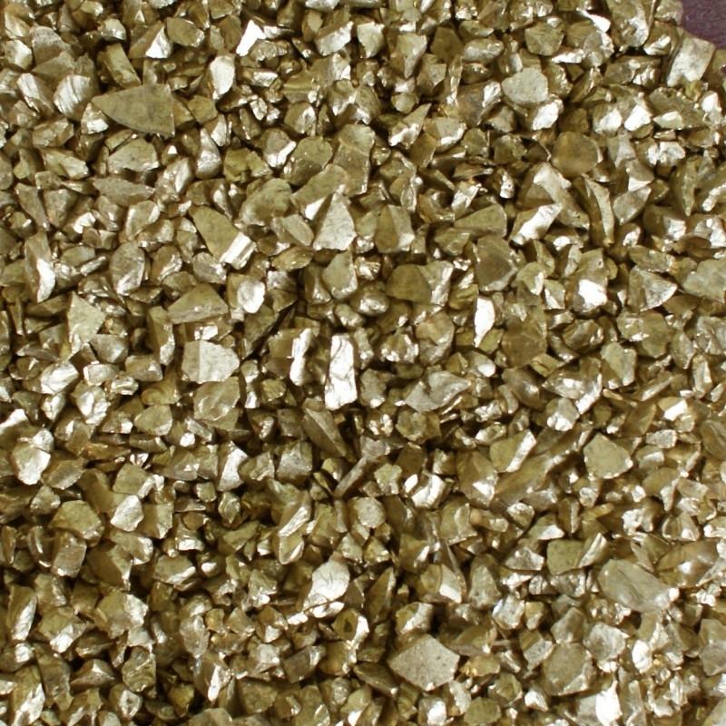 Decoratiesteentjes goud medium 250gr.