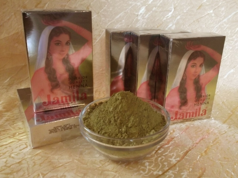 Jamila henna poeder 2015, 500 gram