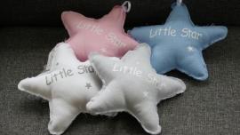 """Stoffen ster (klein) """"Little Star"""""""