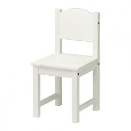 Set tafel + 2 stoeltjes (beschilderd)