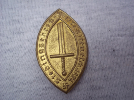 German tinnie, rally badge, Duitse tinnie Stedingsehre 1934.