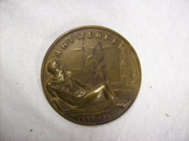 Belgium medal Nationale Federatie der commissarissen van Politie Antwerpen 1897- 1947