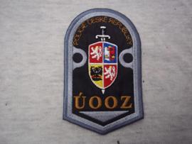 Mouwembleem Tsjechische politie.