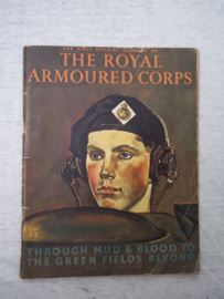 Engelse oorlogs uitgave over het tankkorps 1944 The Royal Armoured Corps.