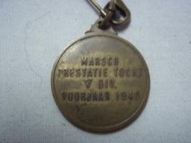 Dutch medal 1940.Nederlandse draagmedaille voor de presentatie mars in 1940