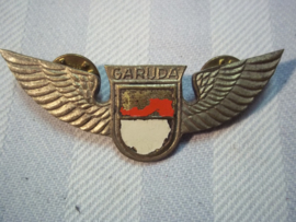 Piloten wing, vliegermaatschappij Garuda Airways, piloten badge.