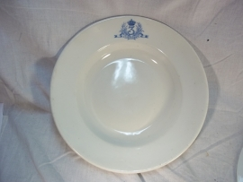 Belgium plate, 3rd. Infantry regiment. Belgisch bord 3e Linie regiment officiers mess