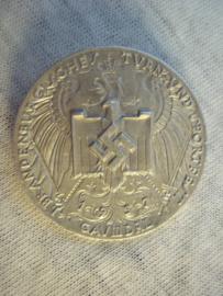 German tinnie rally badge Duitse tinnie 1. Brandenburgisches turn- und sport fest Gau III - DRL 1937.