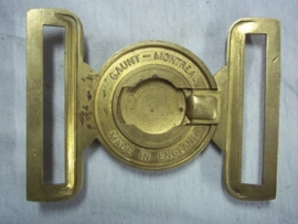 Buckle of the Royal Canadian Army Pay Corps. Canadeese koppel ceremonieel uniform.