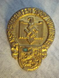 German tinnie, rally badge Duitse tinnie 2. NSRL Kreisfest 1939 Dudweiler.