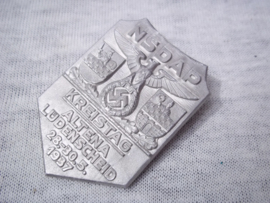 German tinnie, rally badge. Duitse tinnie NSDAP Kreistag Altena Lüdenscheid 28- 30 -5- 1937