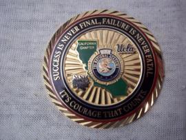 US Police coin. Amerikaanse politie penning. FBINAA President 2018-20919 Johnnie Adams FBI National Academy California.
