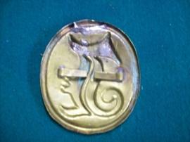 Bavarian badge for the giberne, Bayern embleem voorop de giberne tas