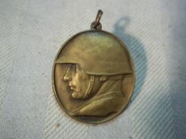 Swiss medal, Zwitserse medaille, liefdadigheids gift voor de soldaten aan het front 1918.