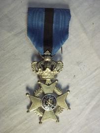 Belgium medal Leopold. Belgische Leopold medaille met Franse tekst