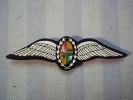 Vlieger, piloten wing van de Zuid-Afrikaanse luchtmacht. SAAF/ SALM voor 1994.