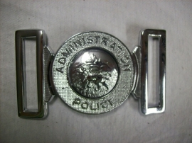 Police buckle of the Kenya Government Administration Police.