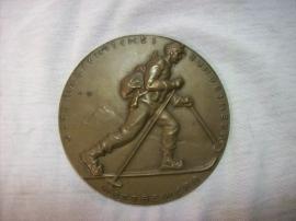 Austrian medal Osterreichisches Bundesheer wettbewerb,  Patrouillen skilauf Schladming 1930