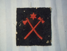 British naval badge from Malta, Engels marine embleem