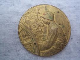 Reichswehr, Wehrmacht Preisrichten 1e Preis 1923, verguld.