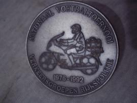Penning, Nationaal voetbaltoernooi Verkeersgroepen Rijkspolitie 1976-1992.