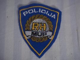 Mouwembleem politie POLICIJA