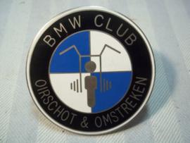 BMW CLUB Oirschot en omstreken, mooi geëmailleerde penning.