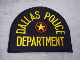 Badge, embleem Dallas Police Department.