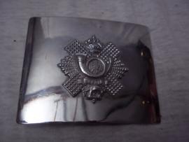 Scottish buckle seremonial uniform. Schotse gesp met embleem, jaren 70- 80.