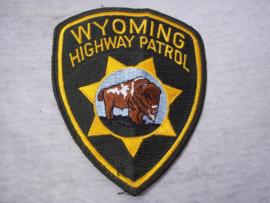 Badge, embleem Wyoming Highway Patrol.