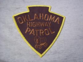 Badge, embleem Oklahoma Highway Patrol.