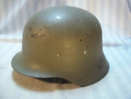 Spanish helmet Franco time. Spaanse helm Franco tijd, Duits model.