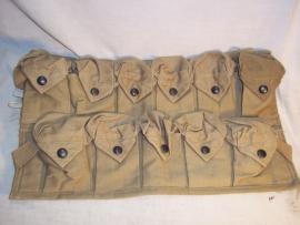 US grenate pouch dated 1918 mint condition. Amerikaans granaten vest uit 1918 mint staat