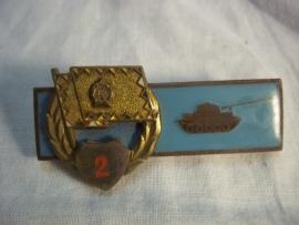 Tankdestroy badge Warschau pact countries. Tankembleem Oost Europa, oud model