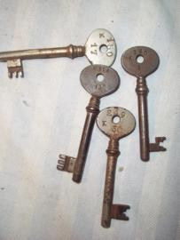Keys from camp Beverlo Belgium, Sleutels van het Kamp te Beverlo in Belgie.