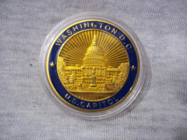 US coin Great seal of the United States Washington D.C.  - US Capitol.