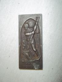 Austrian badge plaque 1918. Oostenrijk Hongarije gedenkpenning 1918 14 ES Honvf¨d