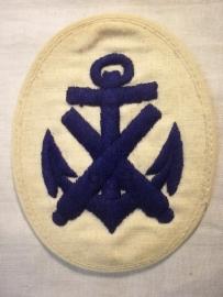 German Kriegsmarine sleeve insignia, Duits mouwembleem werkmansjasje.