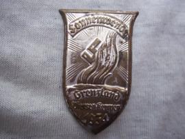 German tinnie, rally badge Duitse tinnie Sonnenwende - Grenzland - Viersen-Kempen 1934. NSDAP related