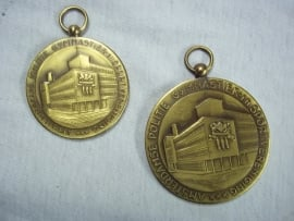 2 Dutch police sport medals. Nederlandse politie medailles sport Amsterdam