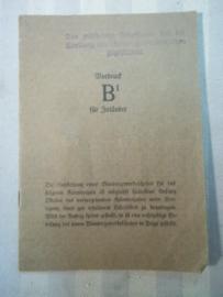 Duits lidmaatschap van de wandelclub.