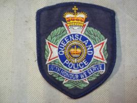 Sleeve badge Australian police, Mouwembleem Australische politie Queensland