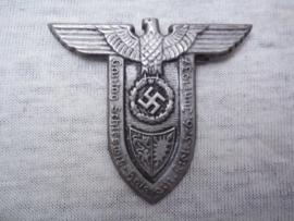 German tinnie, rally badge, Duitse tinnie Gautag Schleswig- Holstein Kiel 3-6 juni 1937