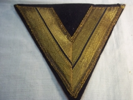 German chevron Kriegsmarine. Duitse armwinkel, rang van de Kriegsmarine,